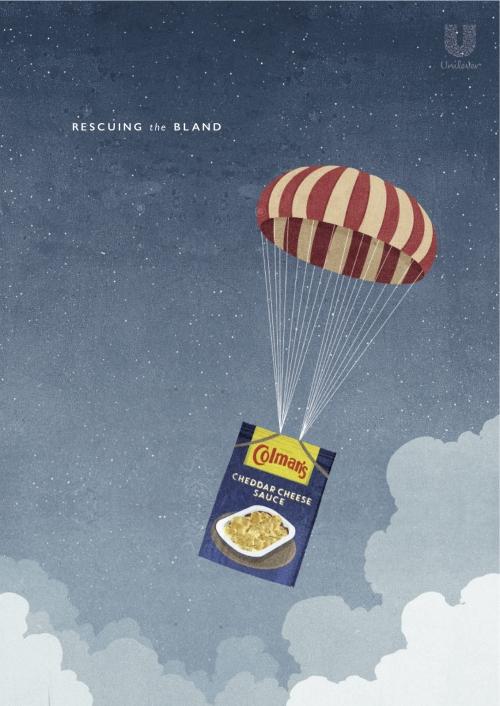 SHOUT_Alessandro_Gottardo_Colmans_Campaign_Parachute